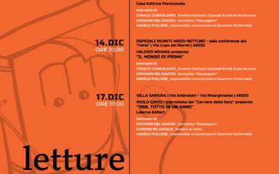 Presentazione Rassegna Book in The Future + Letture in Corsia