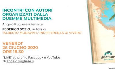 Al via SUNSET BOOK SUMMER 2020: si parte con Federico Sozio il 26 giugno