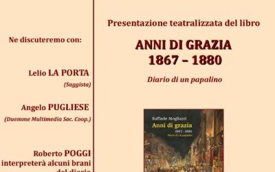 """INIZIA LA RASSEGNA """"DAL RISORGIMENTO ALLA RESISTENZA"""". SI PARTE IL 18 SETTEMBRE CON """"ANNI DI GRAZIA 1867-1880"""""""